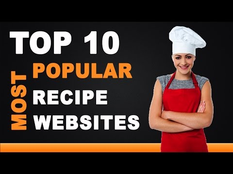 Best Recipe Websites - Top 10 List