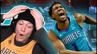 Malik Monk DROPS 36 PTS! ZTAY REACTS To Charlotte Hornets Vs Miami Heat - Full Game Highlights