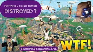 FORTNITE LIVE | TILTED TOWERS DESTROYED BY METEORS ? #GIVEAWAY (subs only)