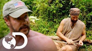 ¡Matt y Joe discuten su manera de cazar! | Desafío x 2 | Discovery Latinoamérica