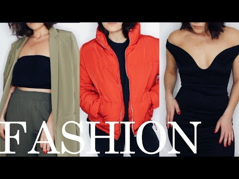 TRY ON HAUL | boohoo zara h&m forever21 end of winter SPRING 2018