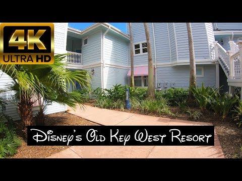 4K60 UHD Disney's Old Key West Resort - Disney Vacation Club Suite Tour - 2019