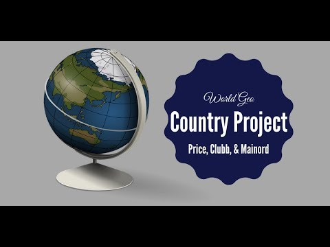 World Geo Country Research Project