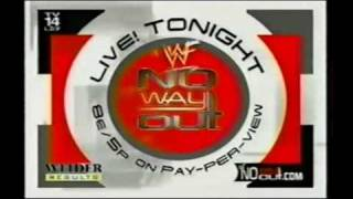 WWF No Way Out 2001 Commercial
