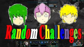 NO RECALLS, NO ITEMS, ALL MID - League of Legends Challenges