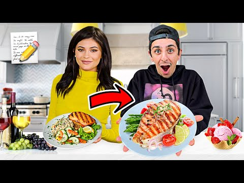 I Ate ONLY Kylie Jenner Food Recipes for 24 Hours! (DELICIOUS) - FaZe Rug