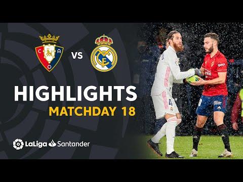 Osasuna Real Madrid Goals And Highlights