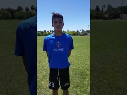 Daniel Benítez Jugador Premier Soccer Academy Seleccionando de MONARCAS MORELIA equipo Profesional
