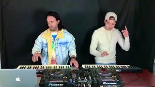 Escapate Conmigo & Me Rehúso  - Wisin & Ozuna ft. Danny Ocean   Instagram Live Cover Philantropic