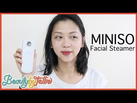 BEAUTYNG-THINGS E02 | MINISO FACIAL STEAMER | Beauty by Tellie