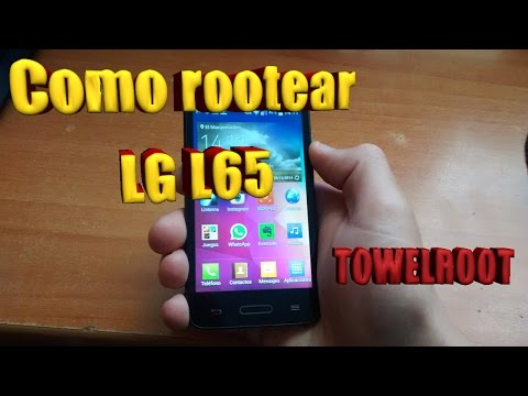 COMO ROOTEAR LG L65 SIN PC (Towelroot)
