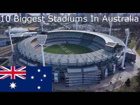 10 Biggest Stadiums In Australia
