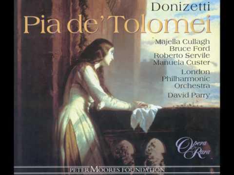 Donizetti - Pia de' Tolomei -
