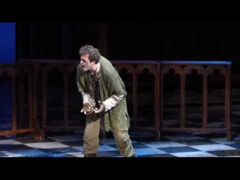 Milan van Waardenburg as Quasimodo - Wie aus Stein, Der Glöckner von Notre Dame