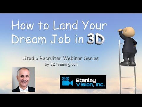 3DTi Webinar Series: Stanley Vision Tip #2 - What 3D Jobs Pay