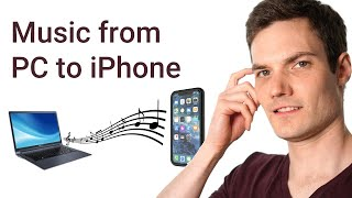 If you have music on your computer and you want to transfer it to your iPhone, this is the video for.
