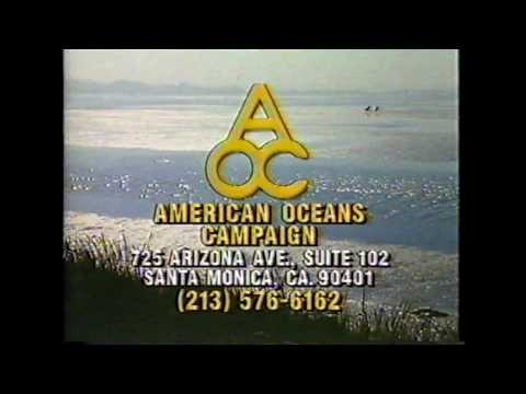 American Oceans Campaign commercial (1991) featuring Ted Danson