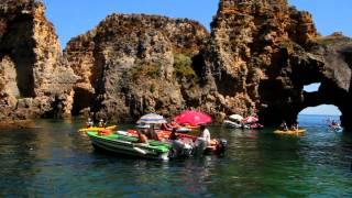 LAGOS, Portugal -  KAYAK TOURS - Great Video(video by nuno duva / site: nunoduva.com., 2013-07-29T01:21:36.000Z)