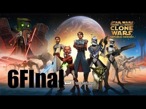 Star Wars: The Clone Wars - Republic Heroes - Прохождение Часть 6[Конец] (PC)