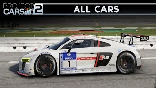 Project Cars 2 - ALL 180 CARS + DLCs (All Cars Interiors & Sounds)