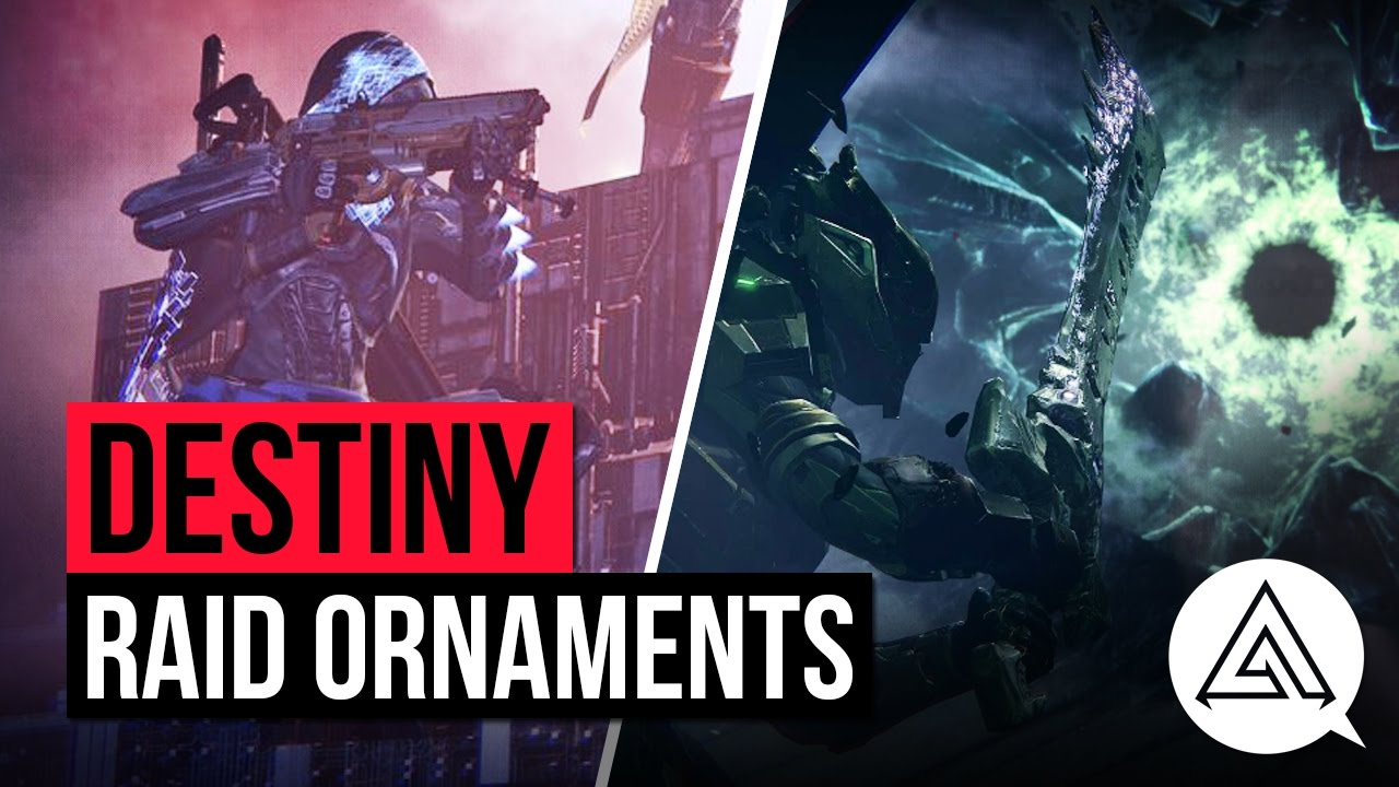 destiny age of triumph | new raid weapon & gear ornaments - youtube