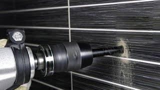 видео Сверление плитки, камня