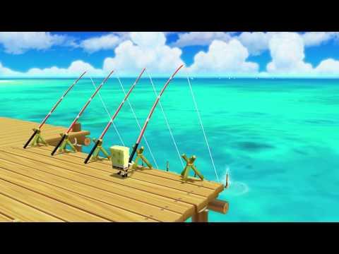 Mario Party 9 MiniGames - Blue Mario Vs Black Luigi Vs Spongebob Vs Yoshi (Master Cpu)