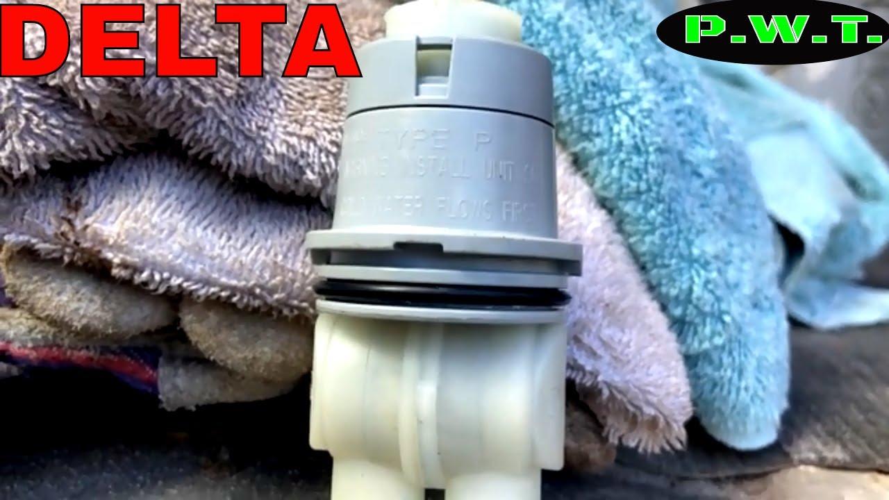 delta type p tub shower cartridge repair