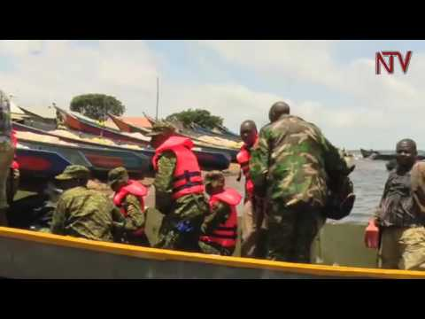 UPDF marines launches operation against illegal fishing
