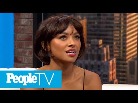 Kat Graham On The On-Screen Chemistry With Co-Star Quincy Brown In 'The Holiday Calendar' | PeopleTV