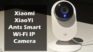 Xiaomi Smart Ants Wi-Fi Camera Review, Setup and Sample Footage