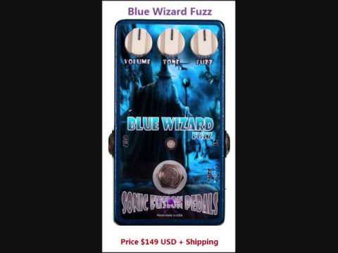 scott rolaf doing a demo of the SONIC FUSION BLUE WIZARD