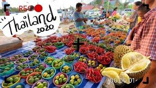 VLOG Таи ланд I Пхукет ночнои рынок еды пробую дуриан и скорпиона I Karina Snitsarenko