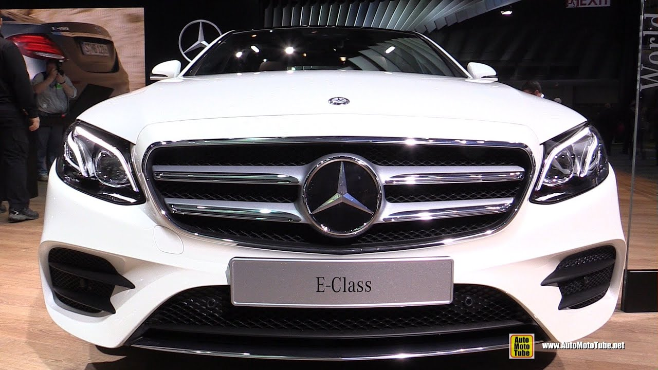 2017 Mercedes E Cl E300 Exterior And Interior Walkaround 2016 Detroit Auto Show