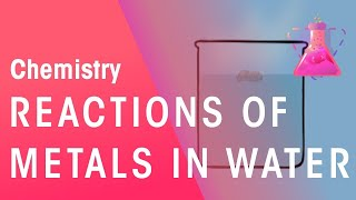 Reactions Of Metals With Water | Reactions | Chemistry | FuseSchool