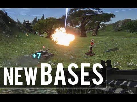 New Bases on Indar and Amerish! (Planetside 2)