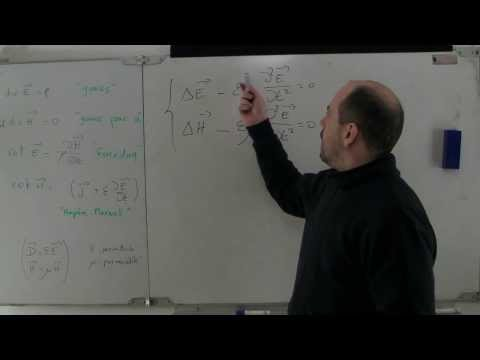 57 - Tutoriel : Les équations de Maxwell (Heaviside)