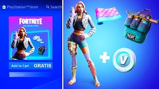 HOW TO GET THE FREE STARTER PACK IN FORTNITE! (The Free Wild Package in Fortnite)