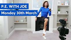 P.E. With Joe - YouTube