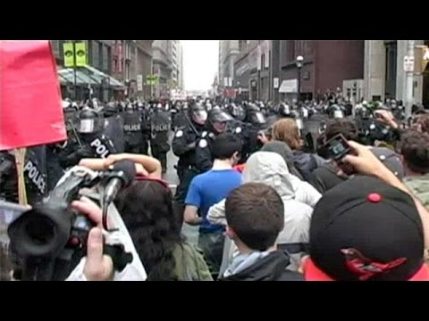 Toronto G20 protests - You Should Have Stayed At Home - the fifth estate