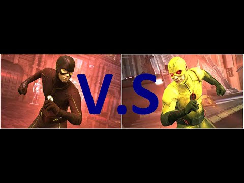 Injustice Versus Challenge: Metahuman Flash vs Reverse Flash