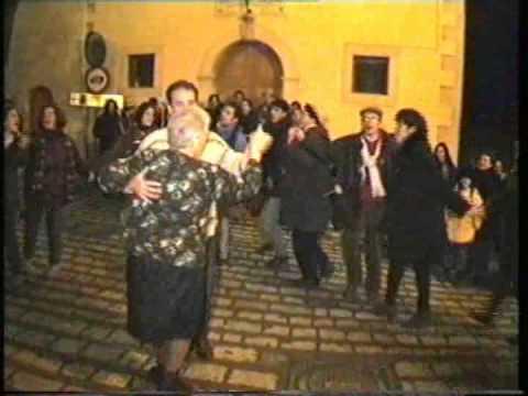 Gambatesa - Maitunat - notte 31 dic 1995 2^ parte