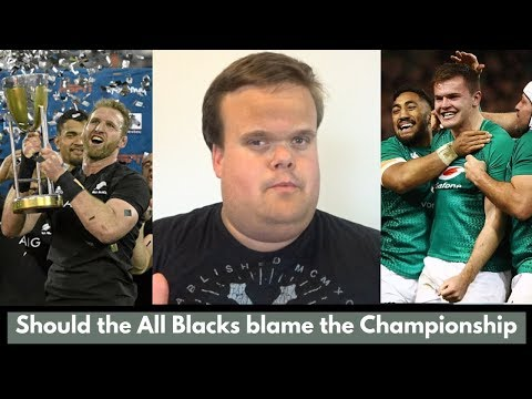 Weak Rugby Championship led to All Blacks being exposed against Ireland?