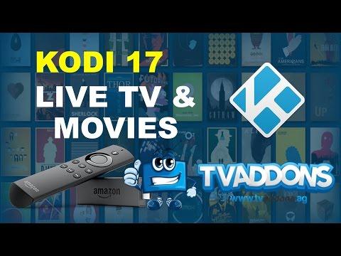 Install Live TV, Movies on Jailbroken Amazon Fire TV Stick 2017 - Kodi Krypton 17.0