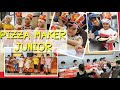 Junior Pizza Maker | Ulang tahun ke 4 di Pizza hut | bikin pizza sendiri with classmate | playgroup