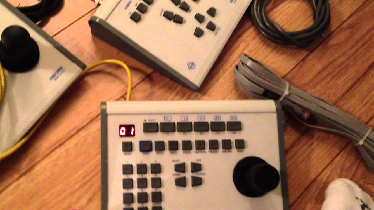 how to use a pelco kbd300 ptz camera controller in direct mode youtube rh youtube com  pelco kbd100 manual