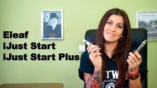 Обзор стартовых наборов  Eleaf iJust Start и Eleaf iJust Start Plus(Спасибо сайту http://www.eleafworld.com за предоставленные образцы. iJust Start и iJust Start Plus - хорошие стартовые наборы для..., 2016-01-15T18:08:51.000Z)