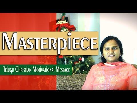 Masterpiece||Latest New Telugu Christian Messages || Pastor, Swapna Edwards
