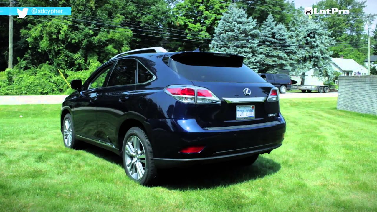 Exceptional 2014 Lexus RX 450h Review   LotPro   YouTube