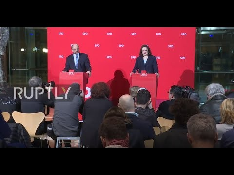 Germany: Andrea Nahles to lead SPD as Schulz becomes Foreign Minister